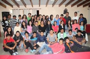 Jóvenes de Lima Sur intercambian experiencias deRS