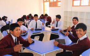 Southern y Samsung instalan aulas interactivas en colegios deTacna